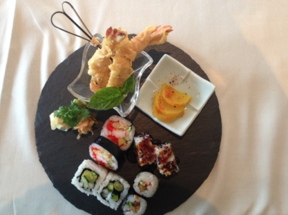Wonderful Sushi - the presentation is awesome!